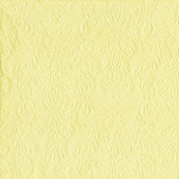 Servietten 33x33 cm - CAMEO UNI light yellow