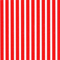 Lunch Servietten Stripes again red