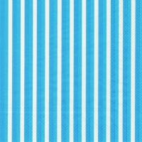 Lunch Servietten Stripes again blue