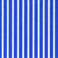 Servietten 33x33 cm - STRIPES AGAIN dark blue