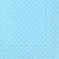Lunch Servietten DOTTY light blue