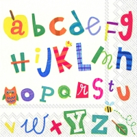 Lunch Servietten ALPHABET