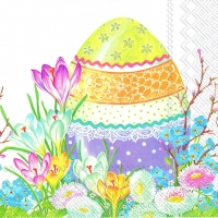 Servietten 33x33 cm - DECORATIVE EASTER EGG