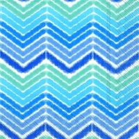 Lunch Servietten IKAT STRIPE blue