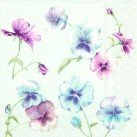 Lunch Servietten VIOLA IN VOGUE light blue