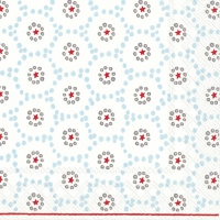 Servietten 33x33 cm - WINTER DOTTY hellblau