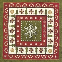 Lunch Servietten CHRISTMAS PATTERN cream