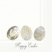 Servietten 33x33 cm - EASTER MORNING EGGS linen