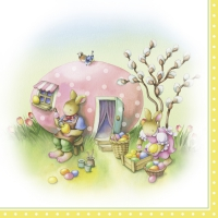 Lunch Servietten EASTER EGG HOUSE (V&B)