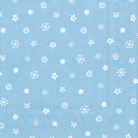 Servietten 33x33 cm - LITTLE JOY light blue