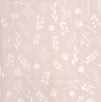 Servietten 33x33 cm - TILDA light rose