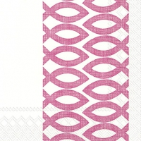 Servietten 33x33 cm - CEREMONIAL DAY pink