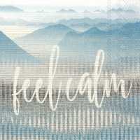Servietten 33x33 cm - FEEL CALM linen