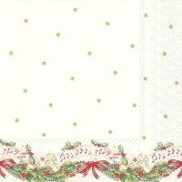 Servietten 33x33 cm - CHRISTMAS MUSIC (V&B)