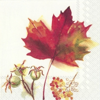 Servietten 33x33 cm - MAGIC AUTUMN cream