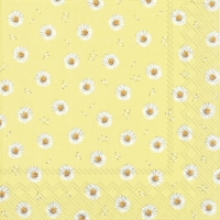 Servietten 33x33 cm - BETTY yellow