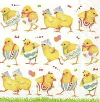 Servietten 33x33 cm - CHICKS ON CATWALK
