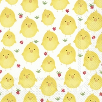 Servietten 33x33 cm - SWEET CHICKS