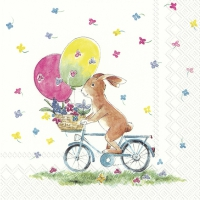 Servietten 33x33 cm - EASTER RIDE