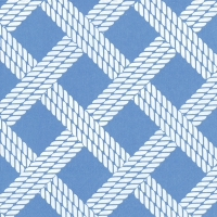 Servietten 33x33 cm - SAILOR´S ROPE light blue