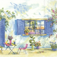 Servietten 33x33 cm - TOSCANA HOLIDAY