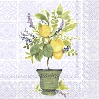 Servietten 33x33 cm - LEMON TREE