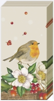 handkerchiefs - WELCOME RED ROBIN linen