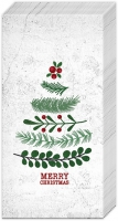 Handkerchiefs - NATURAL CHRISTMAS TREE