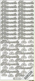 Stickers Text Stickers -  Suomi - gold