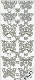Stickers - 1013 - Schmetterling gold