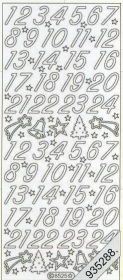 Stickers 8525 - silber