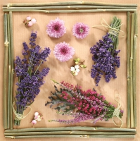 Servietten 33x33 cm - Dry Flower Arrangements