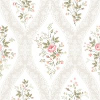 Servietten 33x33 cm - Floral Charming Wallpaper