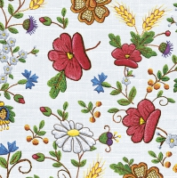 Servietten 33x33 cm - Kashubian Tablecloth