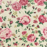 Lunch Servietten Rose Fabric