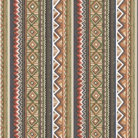 Servietten 33x33 cm - Ethnic Graphics in Stripes