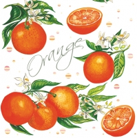 Servietten 33x33 cm - Juicy Oranges