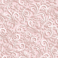 Lunch Servietten Classic 3D Dove pink