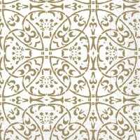 Tissue Servietten 40x40 cm - Claudio (Gold)