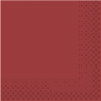Tissue napkins 33x33 cm - BORDEAUX