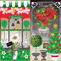 Servietten 33x33 cm - Xmas Collage