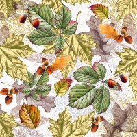 Servietten 33x33 cm - Fall foliage