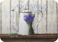 Kork Tischsets Lavender in the Country