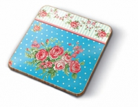 Cork Coaster - Romantic Patchwork