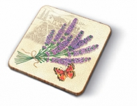 Kork Untersetzer Coasters Beautiful Provence