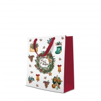 10 gift bags - Warm Holidays