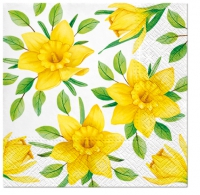 Servietten 25x25 cm - Daffodils in Bloom