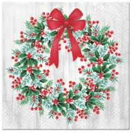Servietten 33x33 cm - Wreath with Rowan