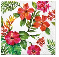 Servietten 33x33 cm - Hawaiian Flowers