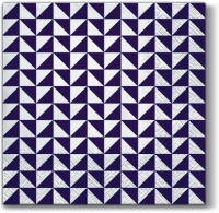 Servietten 33x33 cm - Lanes of Triangles violet